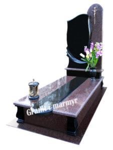 гранітний пам'ятник одинарний