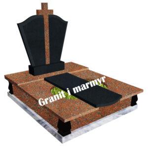 гранітний пам'ятник подвійний