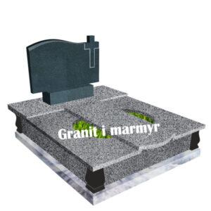 гранітний пам'ятник подвійний 2Г39